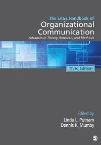 Cover The SAGE Handbook of Organizational Communication