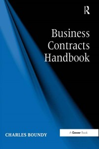 Cover Business Contracts Handbook