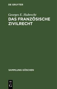 Cover Das französische Zivilrecht