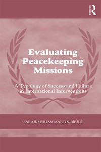 Cover Evaluating Peacekeeping Missions