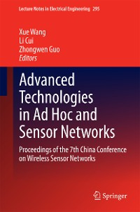 Cover Advanced Technologies in Ad Hoc and Sensor Networks
