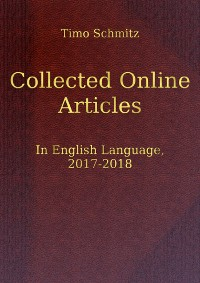Cover Collected Online Articles in English Language, 2017-2018