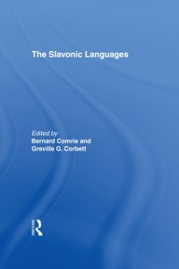 Cover Slavonic Languages