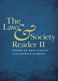 Cover The Law and Society Reader II
