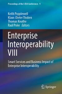 Cover Enterprise Interoperability VIII
