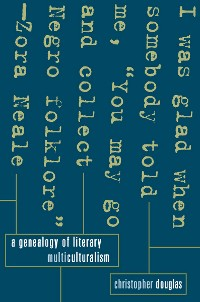 Cover A Genealogy of Literary Multiculturalism