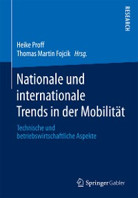 Cover Nationale und internationale Trends in der Mobilität
