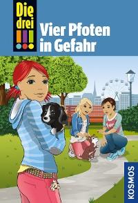Cover Die drei !!!, 79, Vier Pfoten in Gefahr (drei Ausrufezeichen)