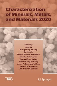 Cover Characterization of Minerals, Metals, and Materials 2020