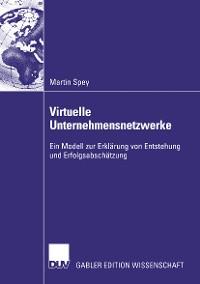 Cover Virtuelle Unternehmensnetzwerke
