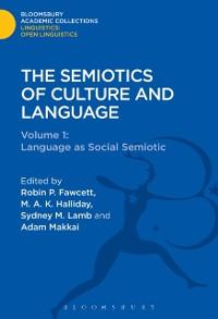 Cover Semiotics of Culture and Language