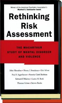 Cover Rethinking Risk Assessment