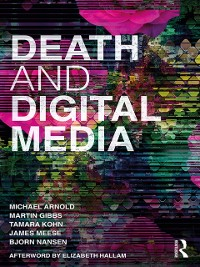 Cover Death and Digital Media