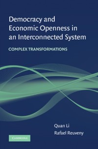 Cover Democracy and Economic Openness in an Interconnected System