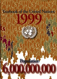 Cover Yearbook of the United Nations 1999