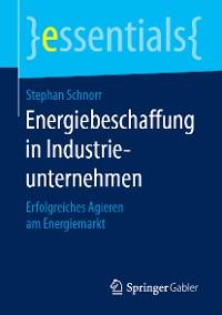 Cover Energiebeschaffung in Industrieunternehmen
