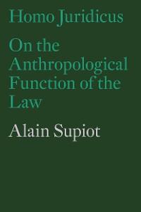 Cover Homo Juridicus