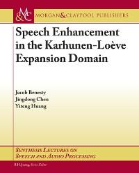 Cover Speech Enhancement in the Karhunen-Loeve Expansion Domain