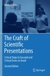 Cover The Craft of Scientific Presentations