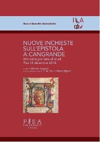 Cover Nuove inchieste sull'Epistola a Cangrande