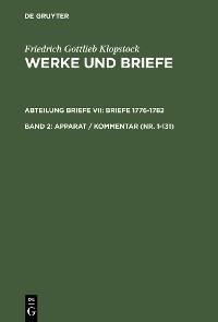 Cover Apparat / Kommentar (Nr. 1-131)