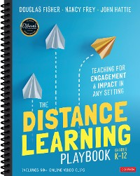 Cover The Distance Learning Playbook, Grades K-12