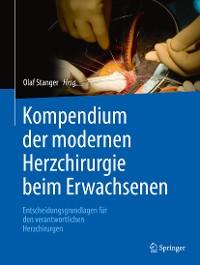 Cover Kompendium der modernen Herzchirurgie beim Erwachsenen