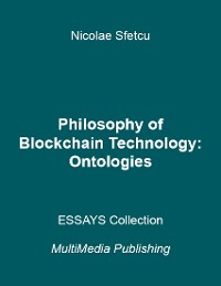 Cover Philosophy of Blockchain Technology - Ontologies
