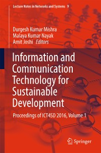 Cover Information and Communication Technology for Sustainable Development