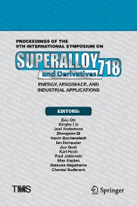 Cover Proceedings of the 9th International Symposium on Superalloy 718 & Derivatives: Energy, Aerospace, and Industrial Applications