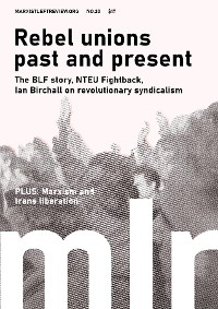 Cover Marxist Left Review #20