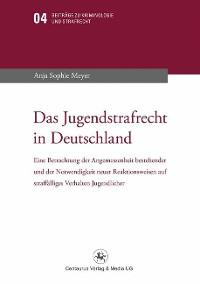 Cover Das Jugendstrafrecht in Deutschland