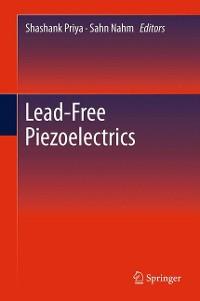 Cover Lead-Free Piezoelectrics