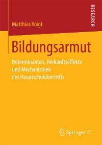 Cover Bildungsarmut