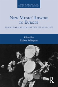 Cover New Music Theatre in Europe