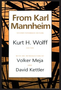 Cover From Karl Mannheim