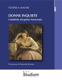 Cover Donne inquiete