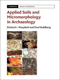 Cover Applied Soils and Micromorphology in Archaeology