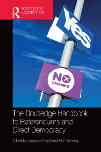 Cover Routledge Handbook to Referendums and Direct Democracy