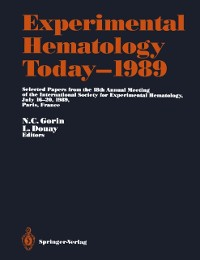 Cover Experimental Hematology Today-1989