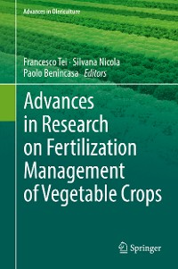 Cover Advances in Research on Fertilization Management of Vegetable Crops