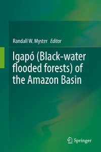 Cover Igapó (Black-water flooded forests) of the Amazon Basin