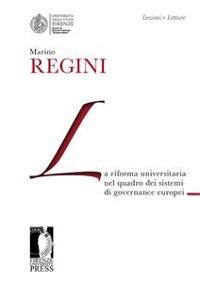 Cover La riforma universitaria nel quadro dei sistemi di governance europei