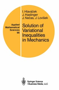 Cover Solution of Variational Inequalities in Mechanics
