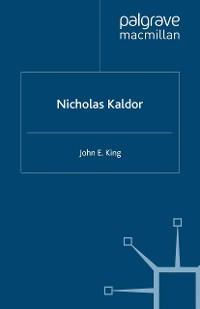 Cover Nicholas Kaldor