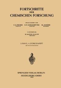 Cover Fortschritte der Chemischen Forschung