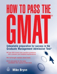 Cover How to Pass the GMAT