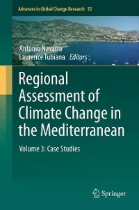 Cover Regional Assessment of Climate Change in the Mediterranean