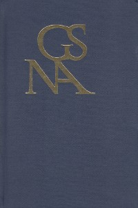 Cover Goethe Yearbook 25