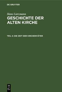 Cover Die Zeit der Kirchenväter